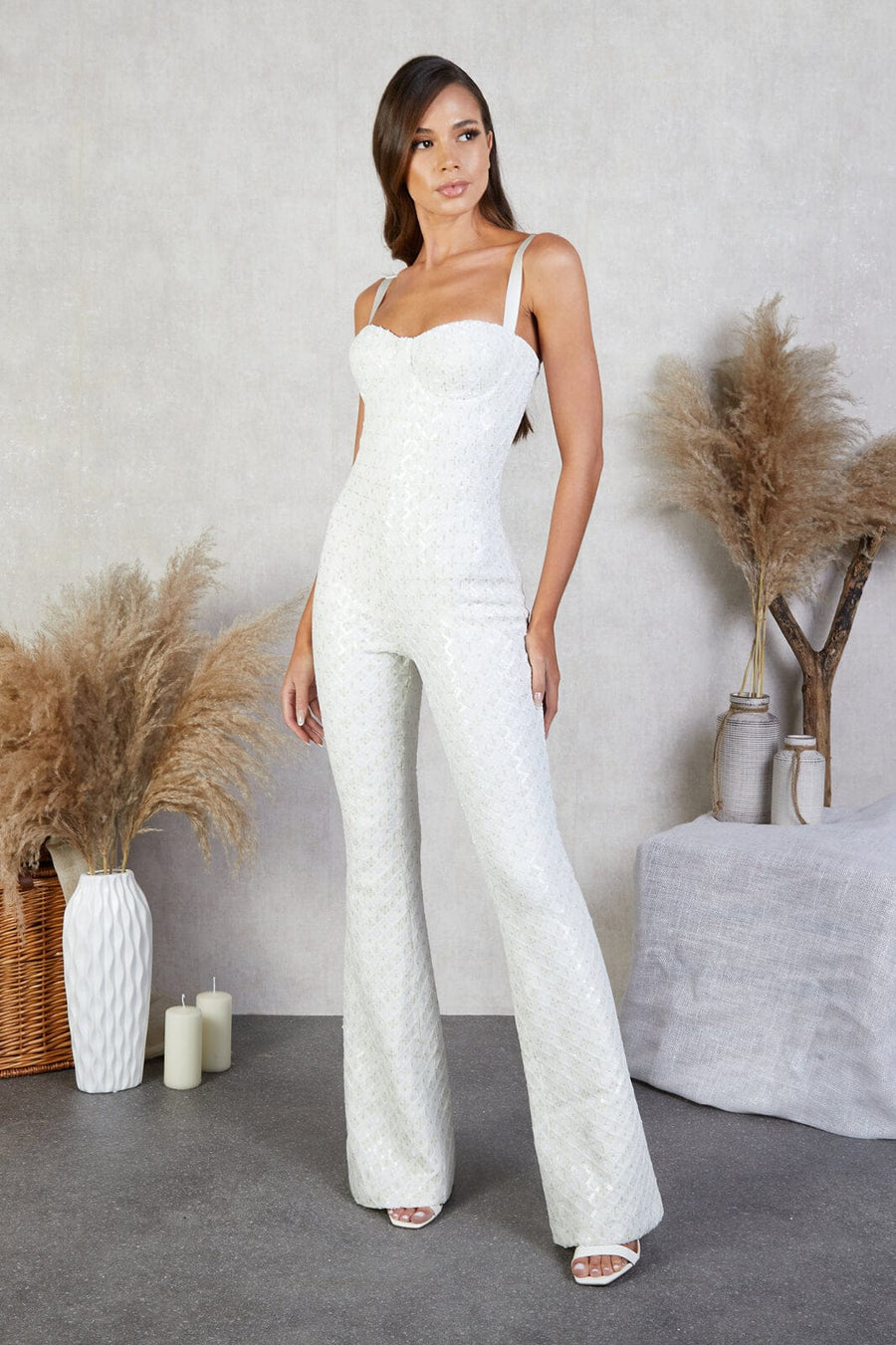 Hailey White Jumpsuit