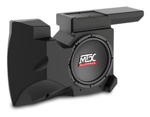 Mtx Four Speaker, Dual Amplifier, And Single Subwoofer Polaris Rzr Audio System With Free Drp Lower Radius Rods