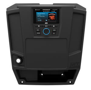 Mtx Two Speaker, Dual Amplifier, And Single Subwoofer Polaris Ranger Audio System