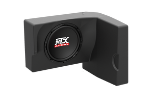 Mtx Four Speaker, Dual Amplifier, And Single Subwoofer Polaris Ranger Audio System