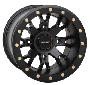 SB-4 Matte Black Beadlock System 3 Off-Road