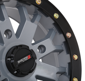 SB-4 Satin Cement Grey Beadlock System 3 Off-Road