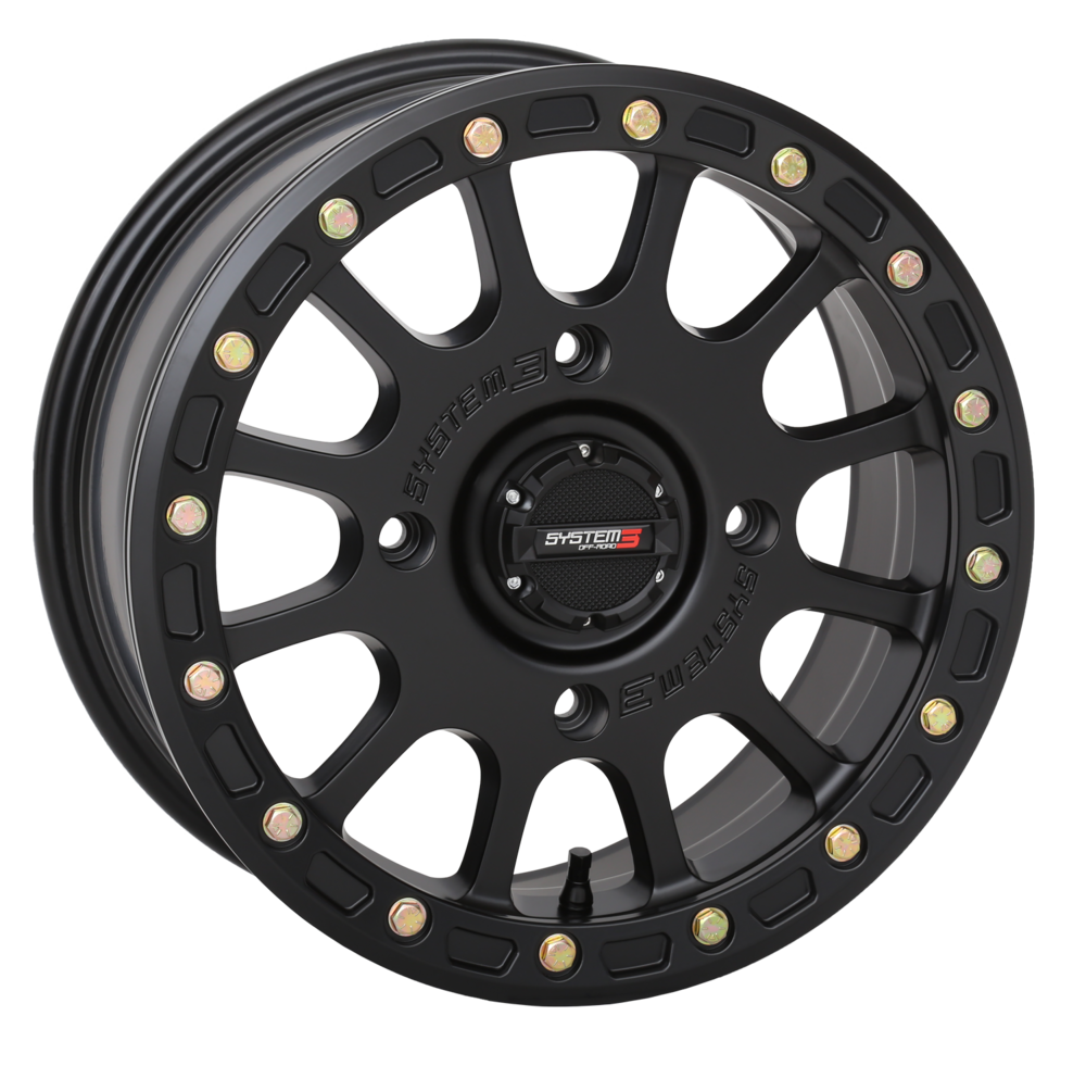 SB-5 Matte Black Beadlock System 3 Off-Road