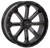 "ST-4 20"" Black & Machined Wheels System 3 Off-Road"