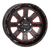 "Copy of ST-4 20"" Red & Black Wheels System 3 Off-Road"