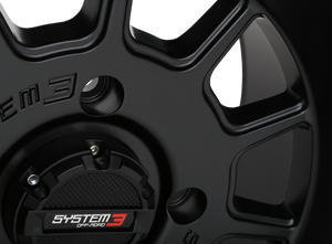 ST-5 Matte Black Wheel System 3 Off-Road