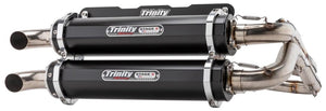 Dual Full System Exhaust System RZR RS1 Trinity Racing