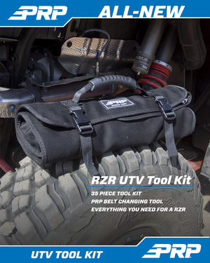 Roll Up Tool Bag With 36 PC Tool Kit PRP