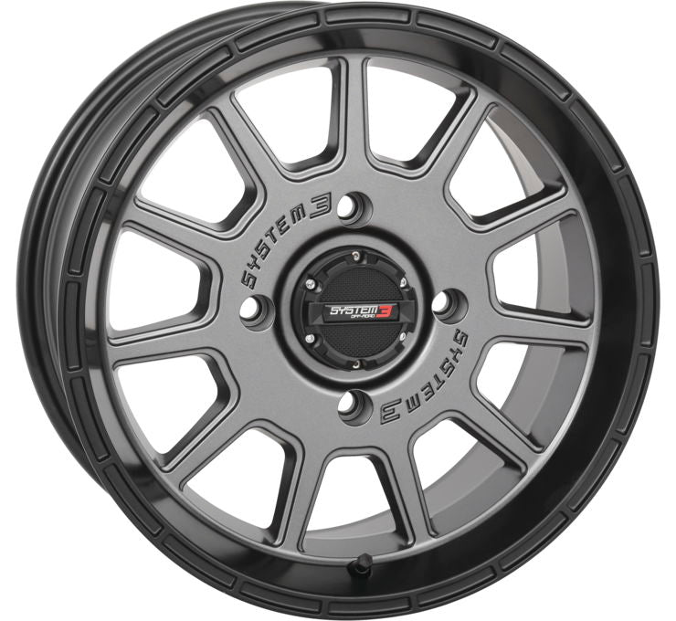ST-5 Gunmetal Grey Wheel System 3 Off-Road
