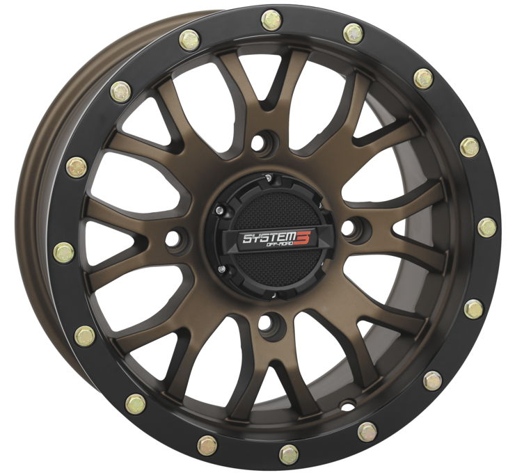 ST-3 Bronze Simulated Beadlock System 3 Off-Road