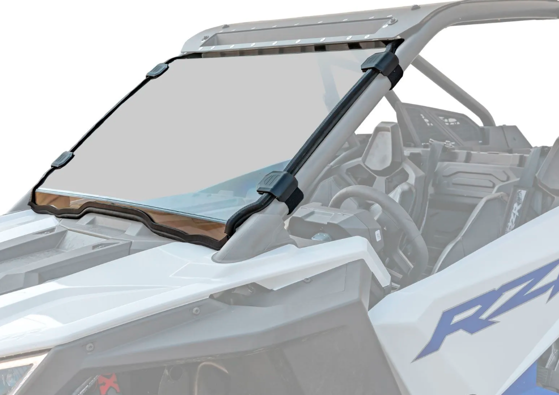 RZR PRO Scratch Resistant Full Windshield SuperATV