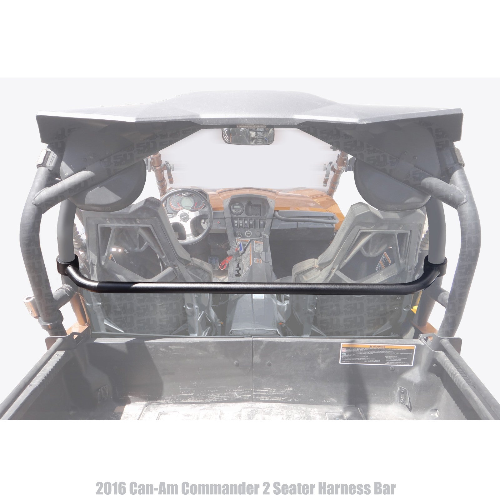 Can-Am Commander 2 Seater Harness Bar 50 Caliber Racing