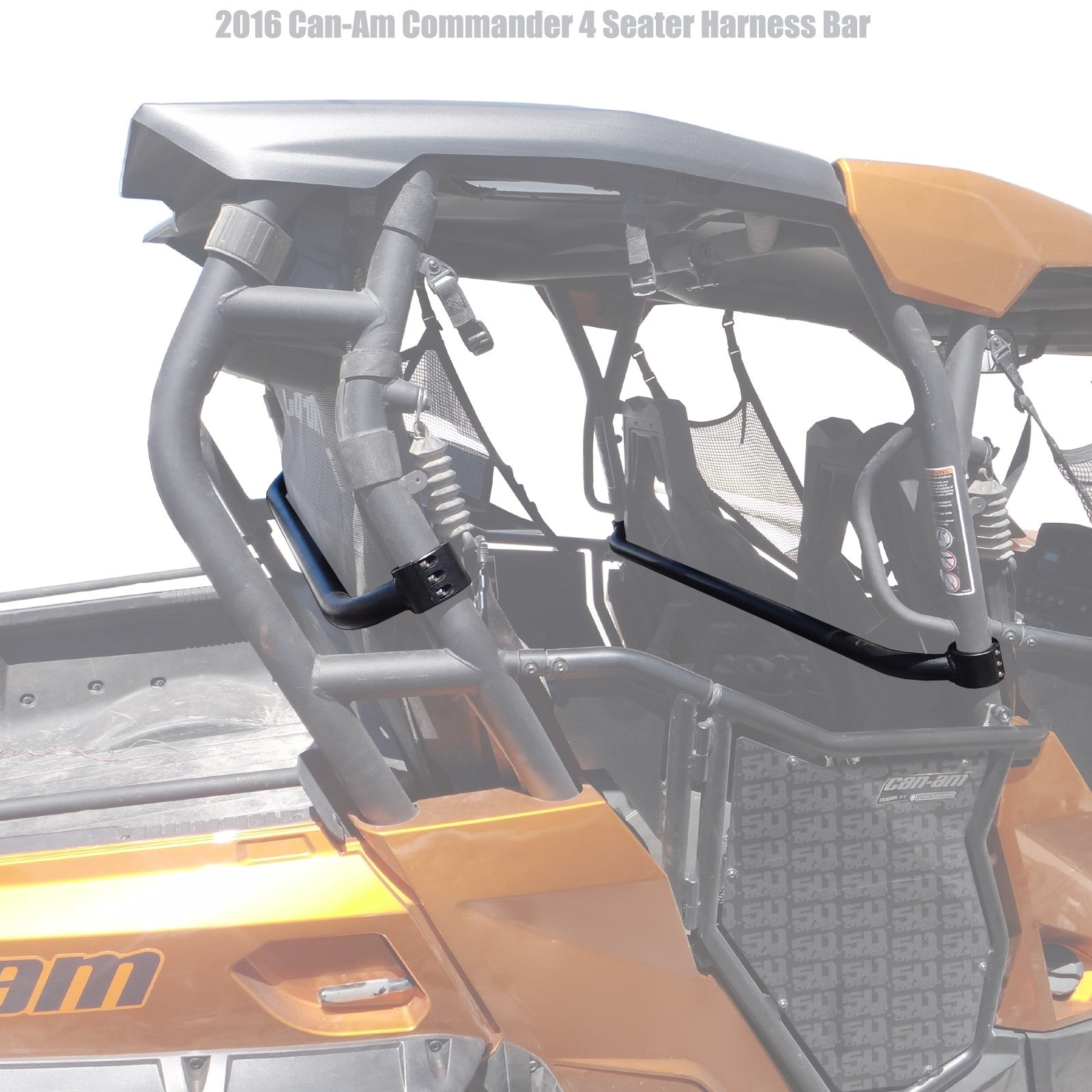 Can-Am Commander 4 Seater Harness Bar 50 Caliber Racing