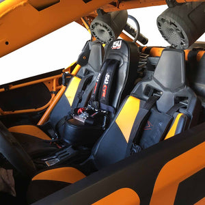 Can-Am X3 Bump Seat with Harness 50 Cal Racing