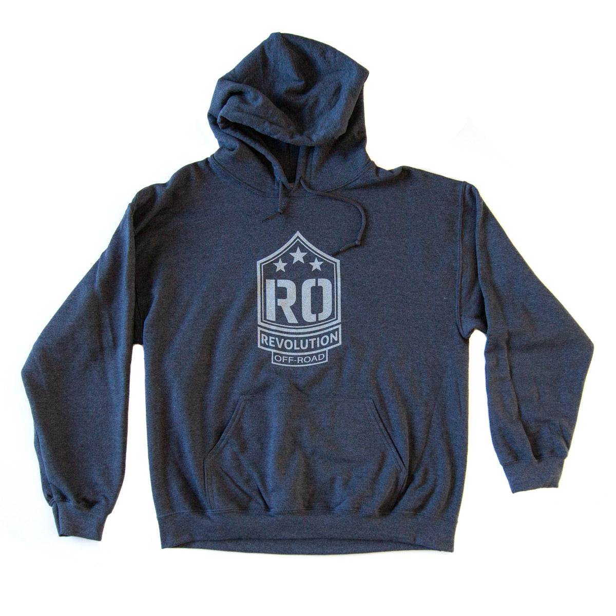 RO Logo Hoodie - Grey | Revolution Off-Road