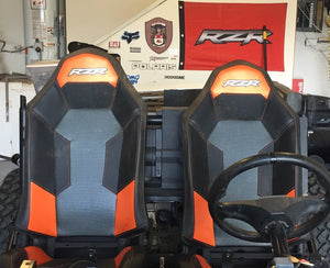 RZR | Seat Bases | Lower and Recline | (PAIR) Longhorn Fab
