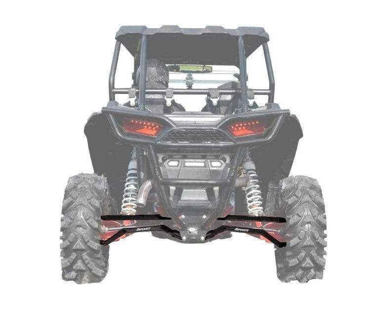 Polaris RZR XP Turbo High Clearance Boxed Radius Arms SuperATV