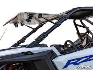 RZR PRO XP Flip Up Scratch Resistant Windshield SuperATV