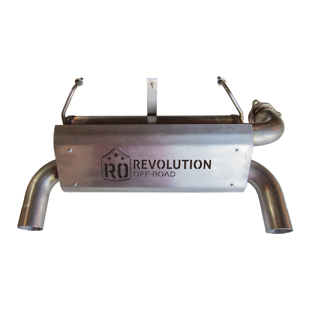 Revolution Offroad  2016-2021 Polaris XP Turbo & Turbo S Slip-On Dual Tip Muffler