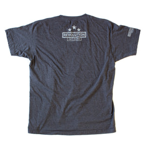 Revolution Off-Road RO Logo Original T-Shirt - Charcoal | FREE Ground Shipping!