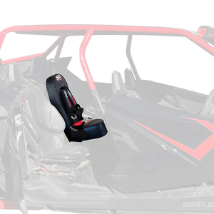 RZR PRO XP4 Rear Bump Seat With Harness 50 Caliber Racing