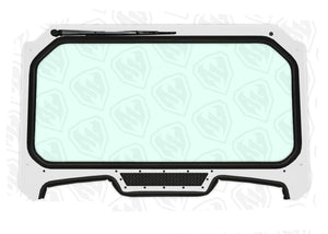 Full Glass Windshield For 2019+ RZR XP 1000 & XP Turbo Moto Armor