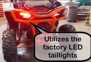 RZR XP PRO Streel Legal Kit With Accent Turn Signal Headlights Ryco