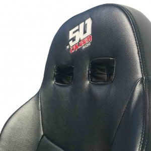 XP1000 Bucket Seat With Carbon Fiber Look 50 Caliber Racing