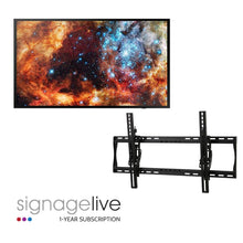 "Load image into Gallery viewer, 49"" Digital Signage Package"