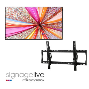 "55"" Digital Signage Package"
