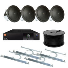 Load image into Gallery viewer, JBL 4-Speaker Midground Flush Commercial Audio System