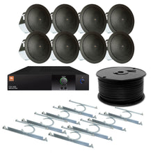 Load image into Gallery viewer, JBL 8-Speaker Midground Flush Commercial Audio System