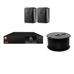JBL 2-Speaker Midground Surface Mount Commercial Audio System
