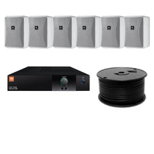 Load image into Gallery viewer, JBL 6-Speaker Midground Surface Mount Commercial Audio System