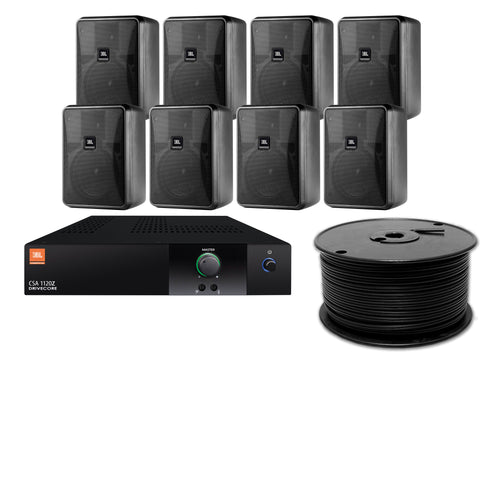 JBL 8-Speaker Midground Surface Mount Commercial Audio System