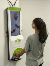 Load image into Gallery viewer, Digital Signage Sanitization Kiosk
