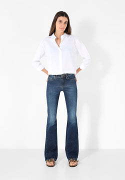 JEAN BOOTCUT TAILLE MOYENNE