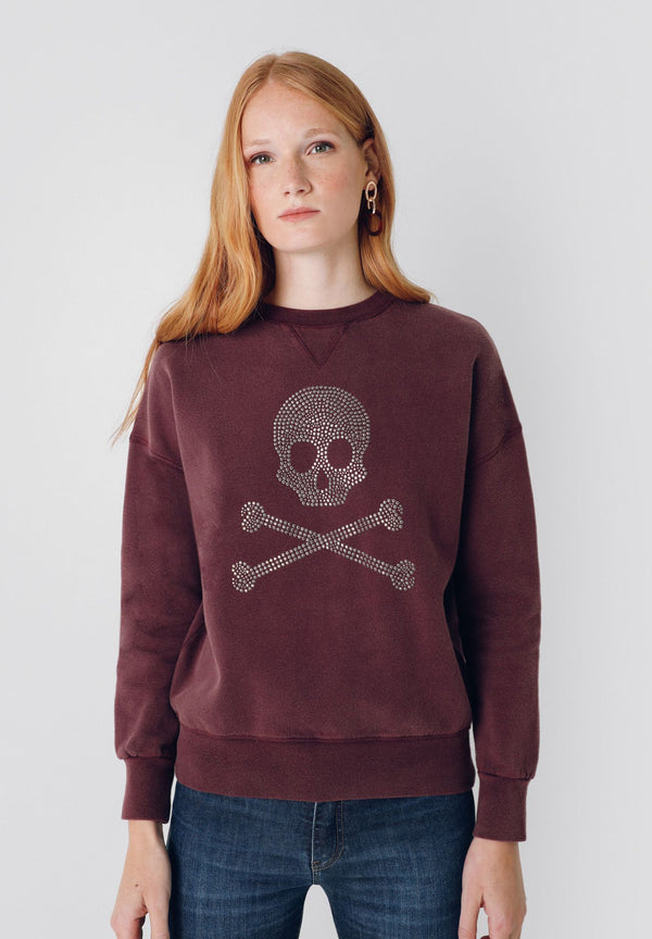 SWEAT LOGO SKULL CLOUS