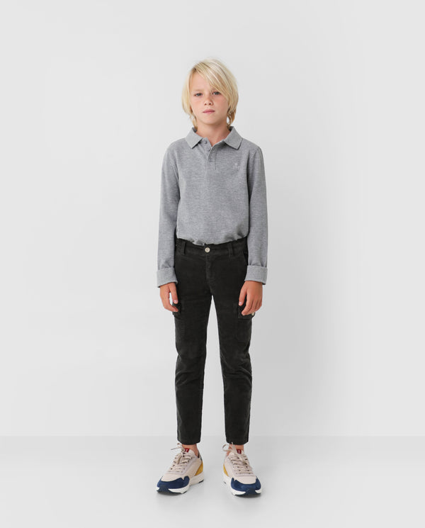 CORDUROY CARGO PANTS KIDS