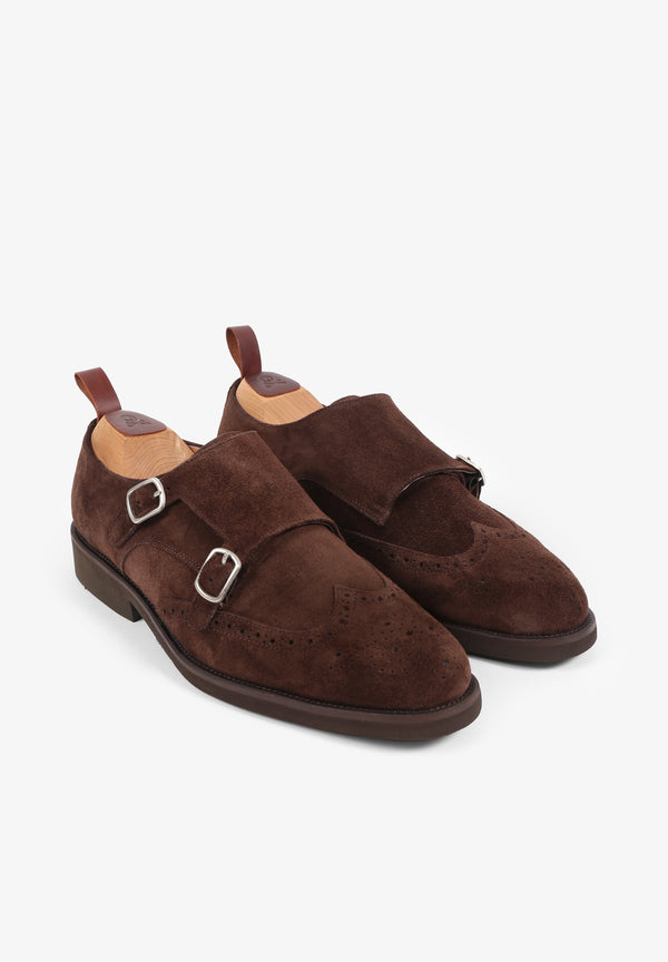 NEW DOUBLE MONK SHOES