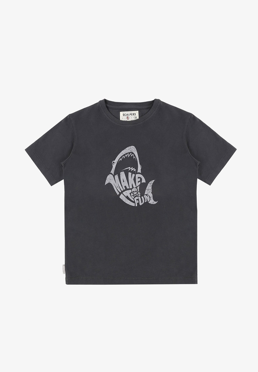 T-SHIRT IMPRIMÉ REQUIN