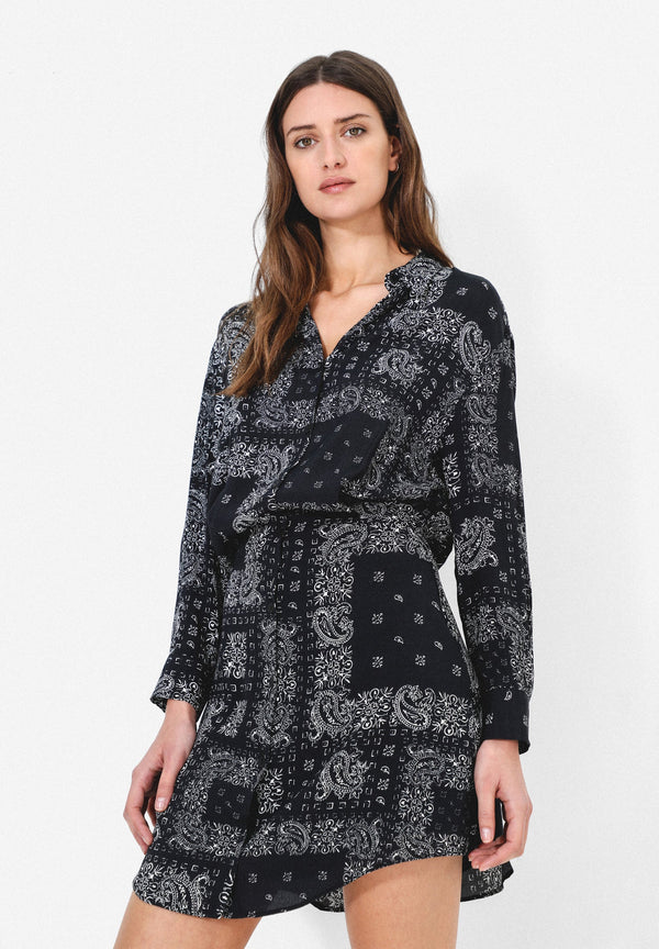 ROBE MINI PAISLEY