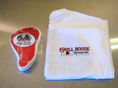 Grill House Logo T-Bone Short Sleeve T-shirt