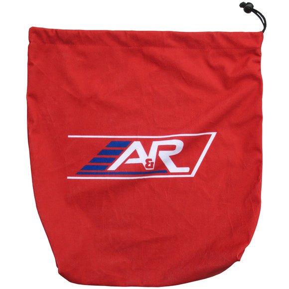 A&R Velour Hockey Helmet Bag