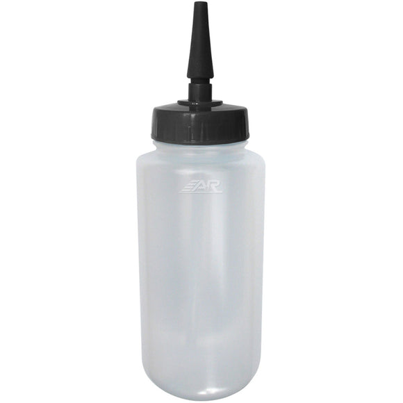 A&R Extended Tip Clear BPA Free 1 Quart Water Bottle