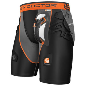 Shock Doctor 590 Ultra Shock Skin Hockey Jock Short - Senior - PSH Sports