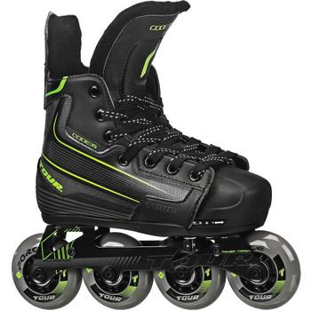 Tour Code 9 Adjustable Youth/Junior Inline Hockey Skates - PSH Sports