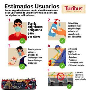 Turibus + Six Flags México