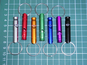Falconry, Sports, Hunting, Dog Training Metal Whistle Various Colours