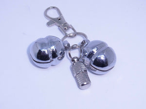 SIZE 11 Lahore Bells for Dogs with Lobster Clasp & split ring & free ID Barrel